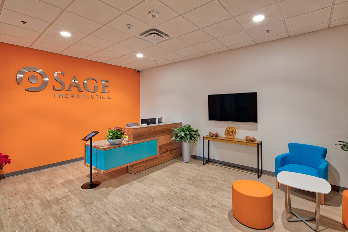 Sage Therapeutics, Tina Barnard Designs, LLC
